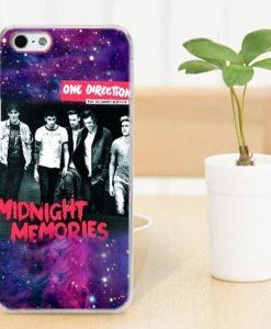 1D midnight Memories galaxy nebula iphone cases