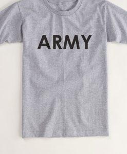ARMY Quarter Sleeve Tshirt