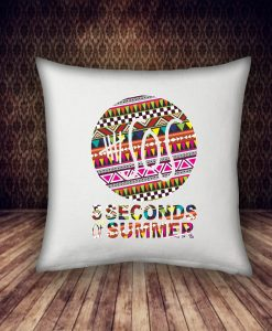 5 second of summer with multiple pattern pillow case