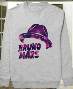 Bruno Mars Hat Flower sweater