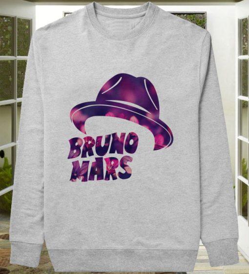 Bruno Mars Hat Flower sweater