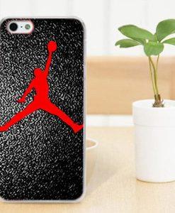 air jordan red basketball iphone cases
