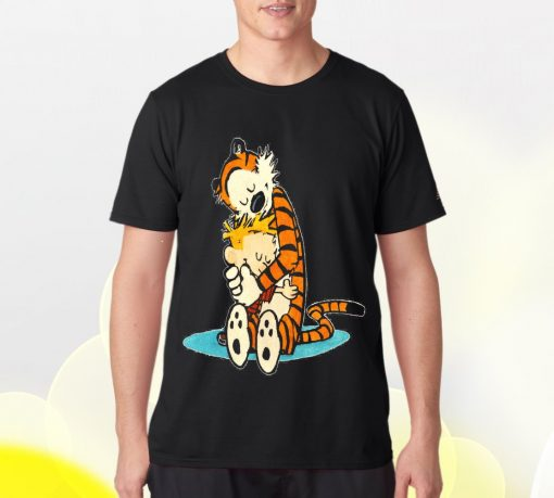 Calvin and Hobbes Tshirt Tees Adult Unisex custom clothing