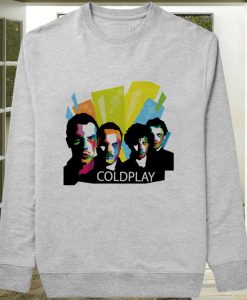 Coldplay Typography sweater sweatshirt