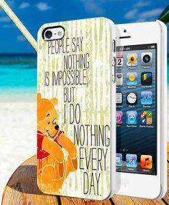 Disney Pooh Quotes iphone cases
