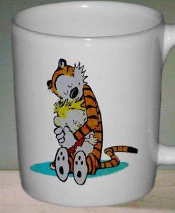 Calvin and Hobbes mug gift custom mug ceramic mug