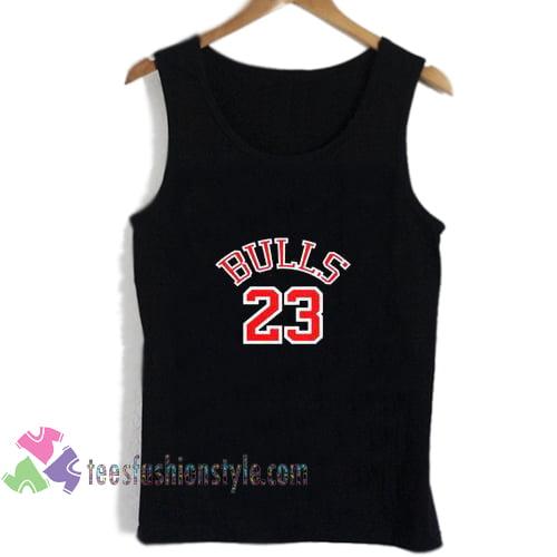 bulls 23 logo tanktop