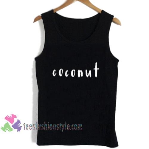 coconut tanktop shirt