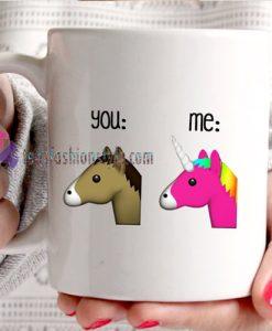 Emoji You And Me mug