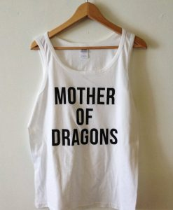 Mother of Dragons White tanktop