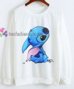 cute stitch Disney sweatshirt