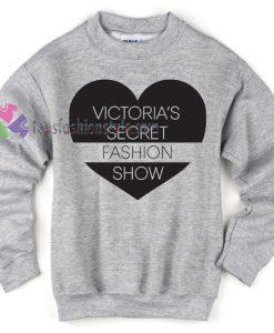 victoria's secret fashion show sweatshirt