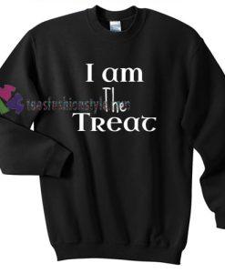 I am the Treat Halloween gift sweatshirt