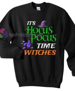 Time Witches Halloween gift sweatshirt