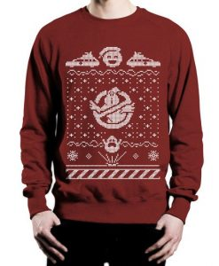 Ghostbusters Inspired sweater