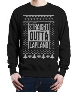 Straight Outta Lapland Christmas