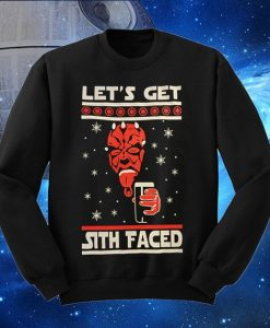 Christmas Star Wars Ugly Satan Sweater