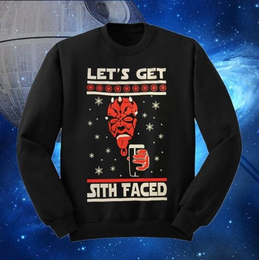 Christmas Star Wars Ugly Satan Sweater
