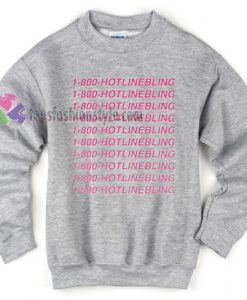 Hotlinebling Gray Sweater