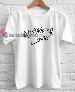 Love White T-Shirt gift
