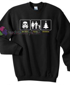 Star Wars Storm Trooper Sweater gift