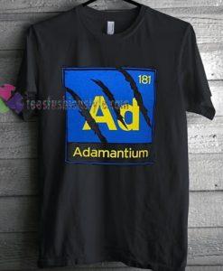 Wolverine Adamantium T-shirt gift