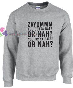 Zayum Need this Love Magcon Sweater gift