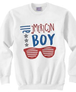 All American Boy independence day sweater gift
