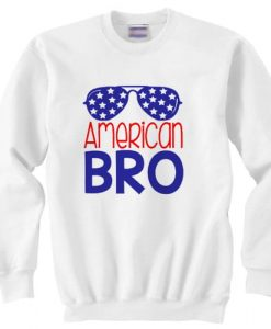 American Bro independence day sweater gift
