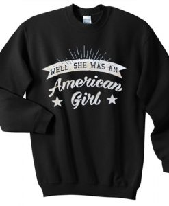 American girl independence day sweater gift