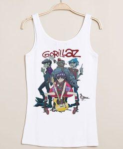 Gorillaz Alertnative Pop Punk Rock tank top gift