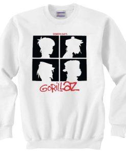 Gorillaz Demon Days sweater gift