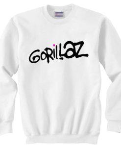 Gorillaz Logo sweater gift