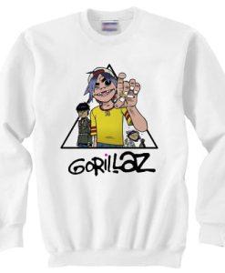 Gorillaz Pyramid sweater gift