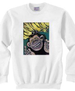 Gorillaz monkey sweater gift