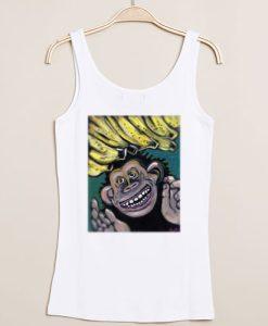 Gorillaz monkey tanktop gift