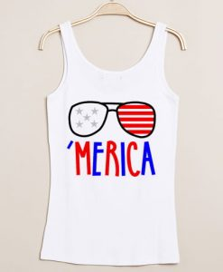 Independence Day Merica tanktop gift