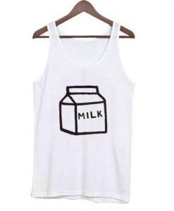 Box Milk tank top gift