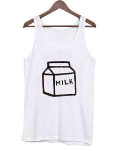 Box Milk tank top gift