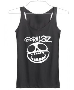 gorillaz hip hop logo tanktop gift