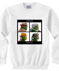 gorillaz turtles krang days sweater gift