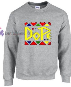 Dope Contras Colour sweater gift