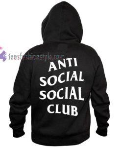 Antisocial Social Club hoodie gift