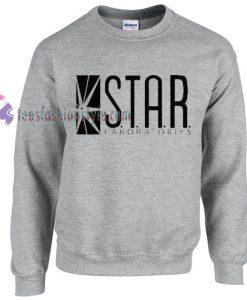 STAR Laboratories sweater gift