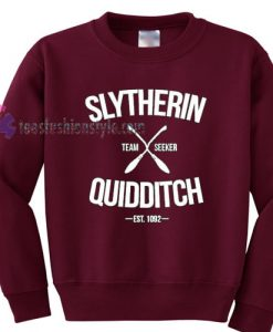 Slytherin Quidditch sweater gift