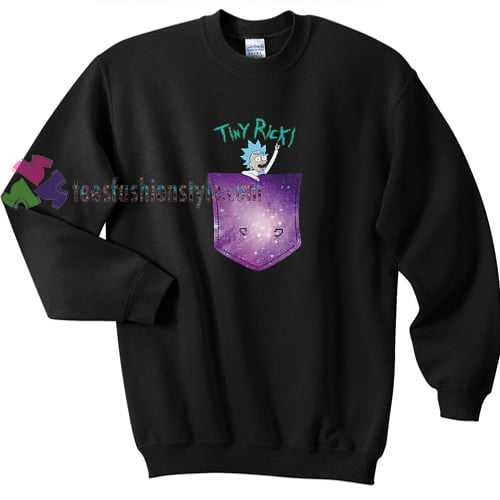 Tiny Rick Space Pocket Jumper sweater gift