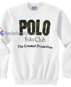Vintage pl club sweater gift