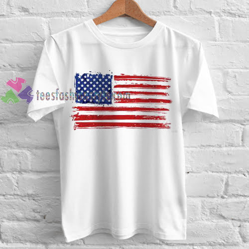 American Flag Tshirt gift cool tee shirts