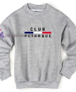 Club Petanque Sweatshirt
