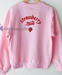 Strawberry Milk Sweatshirt Gift